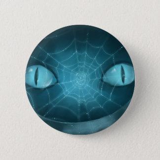 Cheshire-Katzen-grinsender Knopf Runder Button 5,1 Cm