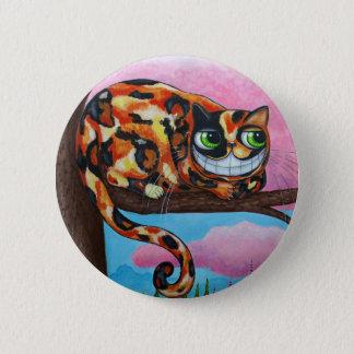 Cheshire-Katzen-Knopf Runder Button 5,1 Cm