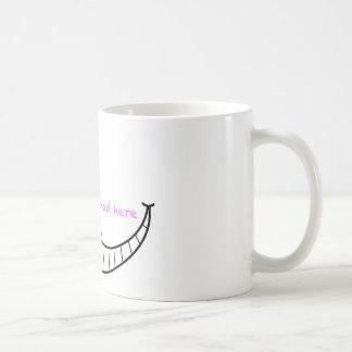 Cheshire-Katzen-Lächeln Kaffeetasse