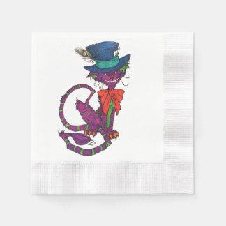 Cheshire-Katzen-Servietten Servietten