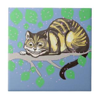 Cheshire-Katzen-Zeichnen Fliese