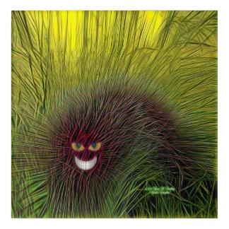 Cheshire-Raupe Acryl Wandkunst
