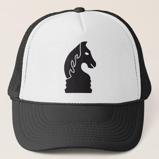 chess horse truckerkappe