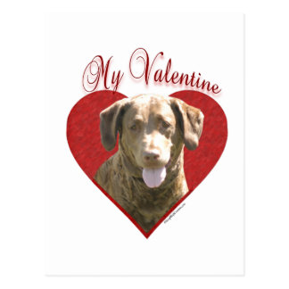 Chessie mein Valentinsgruß Postkarte