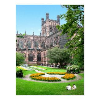 Chester-Kathedrale Postkarte