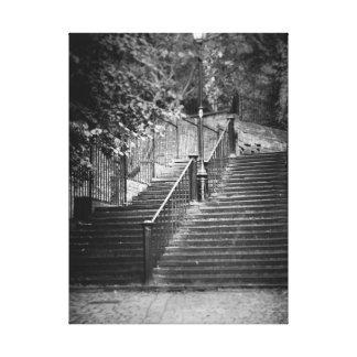 Chester-Schritte Leinwanddruck