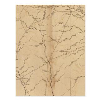Chesterfield-Bezirk, South Carolina Postkarte