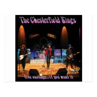 Chesterfield-Könige Postkarte