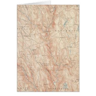 Chesterfield, Massachusetts Karte