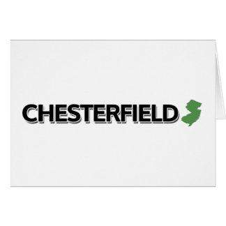 Chesterfield, New-Jersey Karte