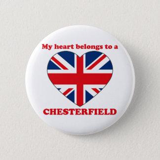 Chesterfield Runder Button 5,1 Cm