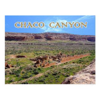 Chetro Ketl in Chaco Schlucht, New Mexiko Postkarte