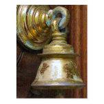 Chettiar hindische Bell auf Tempeltür Postkarte