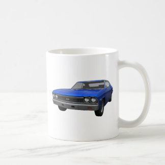 Chevelle 1968 SS: Blaues Ende Kaffeetasse