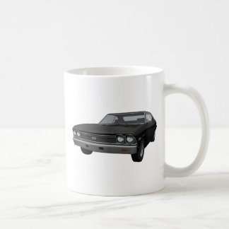 Chevelle 1968 SS: Schwarzes Ende Kaffeetasse