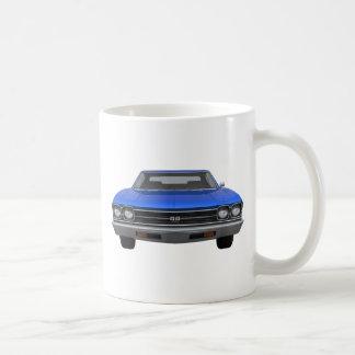 Chevelle 1969 SS: Blaues Ende Kaffeetasse
