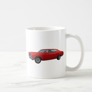 Chevelle 1969 SS: Rotes Ende Kaffeetasse