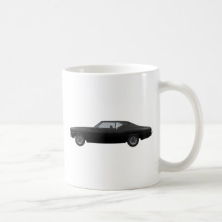 Chevelle 1969 SS: Schwarzes Ende Kaffeetasse