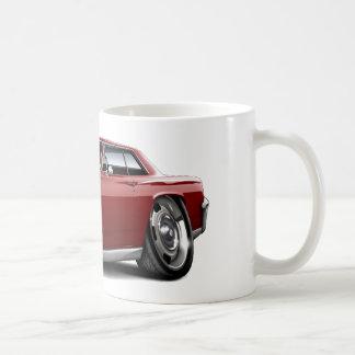 Chevelle kastanienbraunes Auto 1964 Kaffeetasse