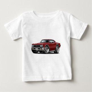 Chevelle kastanienbraunes Auto 1966 Baby T-shirt