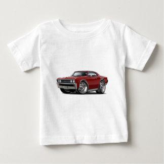 Chevelle kastanienbraunes Auto 1967 Baby T-shirt