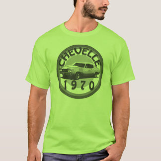 Chevelle Muskel-Auto-Shirt 1970 T-Shirt