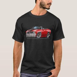Chevelle Rot-Schwarzes Kabriolett 1971-72 T-Shirt