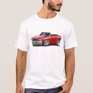 Chevelle Rot-Weißes Kabriolett 1969 T-Shirt