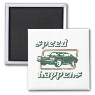 Chevrolet 1970 Chevelle SS 454 Quadratischer Magnet