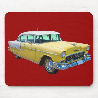 Chevrolet-Bel Air-antikes Auto 1955 Mousepads