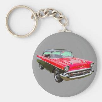 Chevrolet-Bel Air-Klassiker-Auto 1957 Schlüsselanhänger