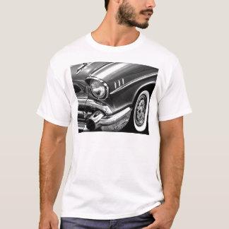 Chevrolet-Bel Air-Schwarzes 1957 u. Weiß T-Shirt