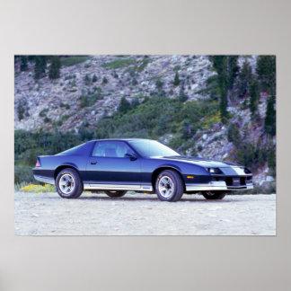 Chevrolet Camaro 1984 Z28 Poster