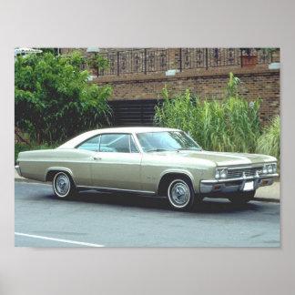 Chevrolet Impalasupersport 1966 Poster