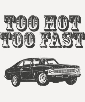 Chevrolet-Nova 1968 SS 396 T-Shirts