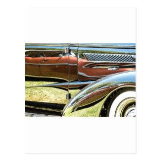 Chevrolet-Reflexionen Postkarte