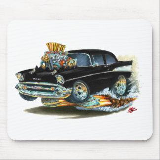 Chevy 150-210 schwarzes Auto 1957 Mauspad