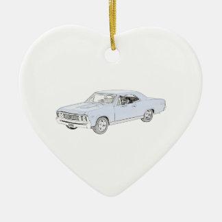 Chevy 1967 Chevelle Keramik Ornament