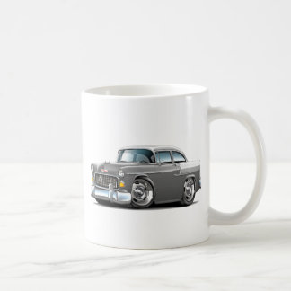 Chevy Belair Grau-Weißes Auto 1955 Kaffeetasse