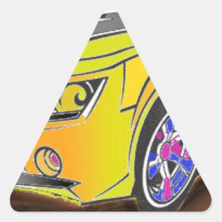 Chevy Camero Dreieckiger Aufkleber