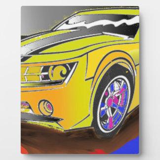 Chevy Camero Fotoplatte