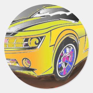 Chevy Camero Runder Aufkleber