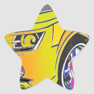 Chevy Camero Stern-Aufkleber