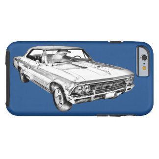 Chevy Chevelle SS 396 Illustration 1966 Tough iPhone 6 Hülle