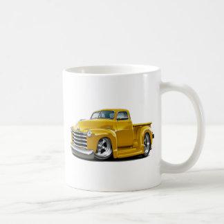 Chevy gelber LKW 1950-52 Kaffeetasse