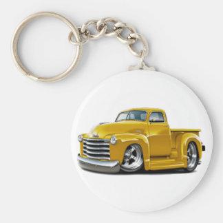 Chevy gelber LKW 1950-52 Schlüsselanhänger