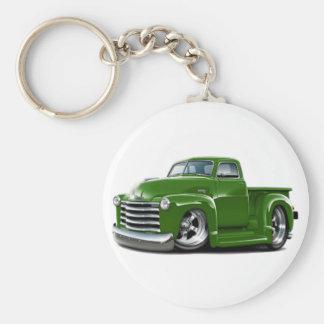 Chevy grüner LKW 1950-52 Schlüsselanhänger