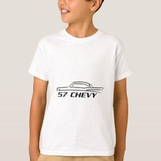 Chevy harte Spitzenart 1957 T-Shirt