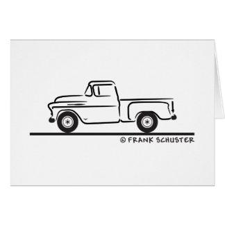 Chevy LKW 1955 Karte