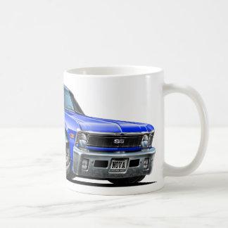 Chevy Nova-Blau-Auto Kaffeetasse
